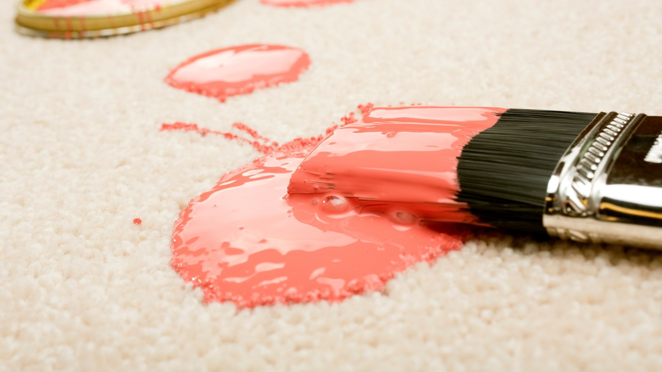How do you get acrylic paint out of carpet