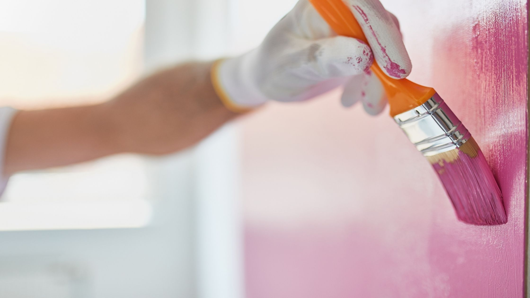 How do you get gloss paint out of carpet?