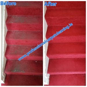 stairs carpet cleaning
